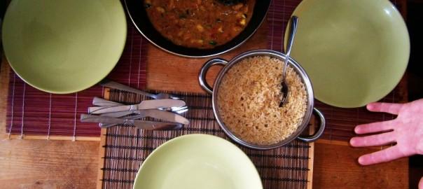 Recept thajské curry zo sójou